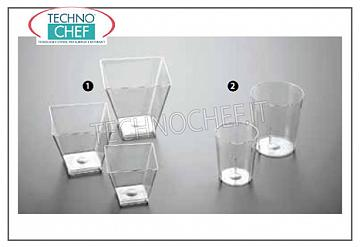 Party - Happy Hour EINMAL GLASS SQUARE PLASTIC